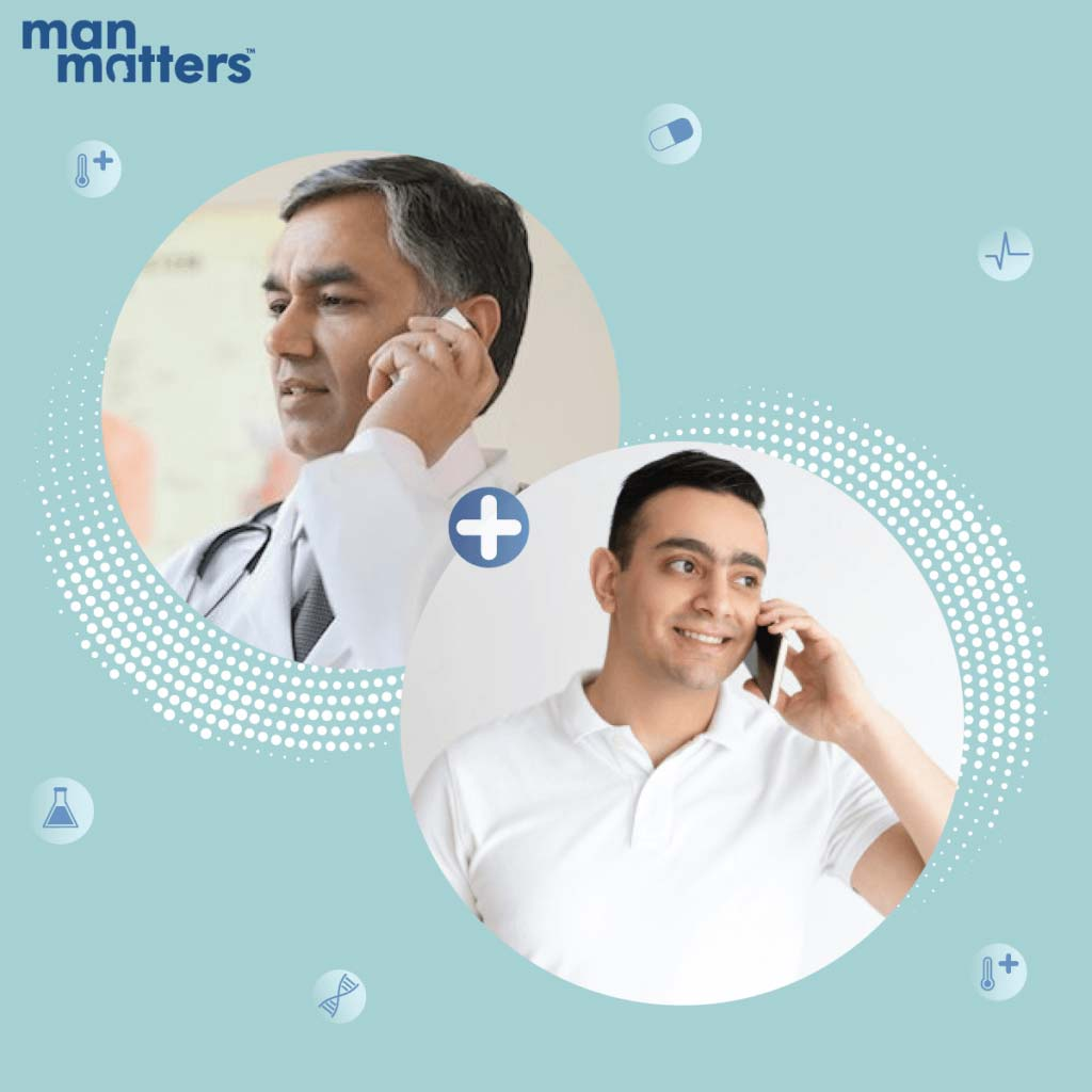Man Matters Doctor Consultations - All you need to know